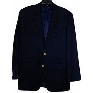 Jos. A. Bank Blazer Size 42L Gold Buttons